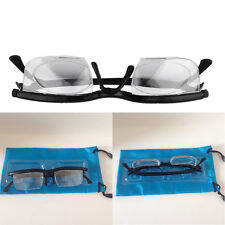 New Dial Eye Glasses Vision Reading Glasses Flexible Frames Case Adjustable Hot