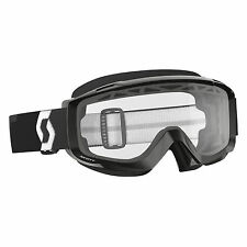 Scott USA Split OTG Enduro Over The Glasses Goggle Black Dual Pane Lens MX ATV