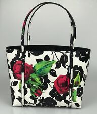 Dolce & Gabbana Shoulder Bag Floral Textured-Leather Small Escape Shopper Tote