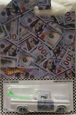 Hot Wheels Custom '62 Chevy Money Car Real Riders Limited 1/5 Made!
