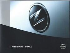 Nissan 350Z UK Brochure & DVD Portfolio Folder May 2004 Excellent Condition