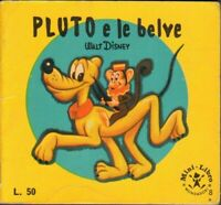 PLUTO E LE BELVE di Walt Disney - Mini Libro n. 8 ed. Mondadori
