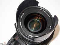 Canon EOS 650 SLR analog + Sigma EF Objektiv 21-35mm 1:3,5-4,2 Weitwinkel-Zoom