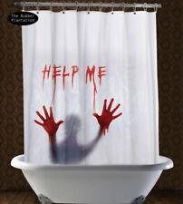 ' Help Me 'Psycho horreur halloween sang Rideau Douche Décoration pour fête