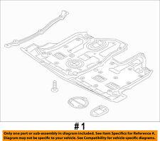 KIA OEM 14-15 Sorento Splash Shield-Underbody Under Engine Cover 291101U500