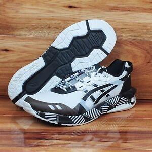 Asics Men's GEL-Lyte XXX White/Black Running Shoes Multi Sizes 1021A391-100