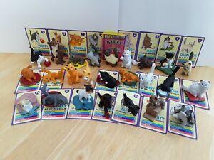 Vintage Kitty In My Pocket Series 1 Figures Full Set Of 25 Bundle