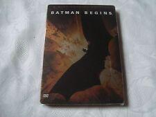 BATMAN BEGINS SteelBook with BOOK & Tattoo Christian Bale Christopher Nolan DVD
