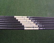 True Temper Dynamic Gold 105 Black Onyx Steel Set of 8 Stiff S300 .355 Taper Tip