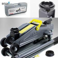 BITUXX Hydraulischer Rangierwagenheber 2T flach Wagenheber hydraulisch 2 Tonnen