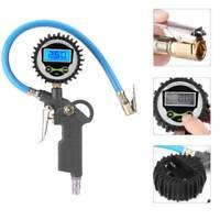 Professional Digital Tyre Inflator + Gauge Air Line Tyre Pump Pressure Tester AU