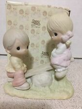 Love Lifted Me Precious Moments 1978 E1375A See Saw Olive Branch Box Included