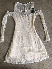 NWT Hollister Cold Shoulder Dress Sz XS