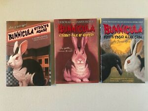 BUNNICULA by James Howe Lot of 3 Paperback GREAT Condition