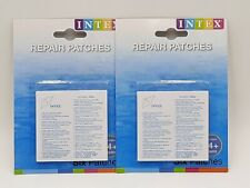INTEX POOL REPAIR PATCHES BRAND 2 packs of 6 NEW🔥🔥 12 patches