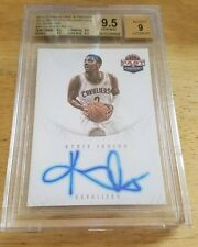 Kyrie Irving 2011-12 Panini Past@Present 2011 Draft Pick Redemption BGS 9.5/9