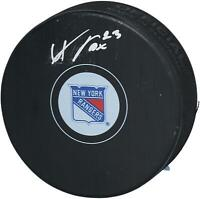 Adam Fox New York Rangers Autographed Hockey Puck Fanatics Authentic Certified