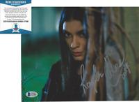 LAYSLA DE OLIVEIRA SIGNED 'LOCKE & KEY' DODGE 8x10 PHOTO 8 PROOF BECKETT COA BAS