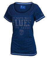 NSW Blues State of Origin Supporter T-Shirt - LADIES  Sizes 8 - 16  *SALE PRICE*