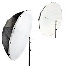 """130cm (51"""") Parabolic Black/White Umbrella with Removable Diffusion Modifier"""