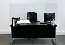 Reception Desk Screen - Personal Protection 5mm Polycarbonate Work Desk Screen
