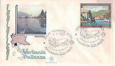 FDC ITALIA PRIMO GIORNO DI EMISSIONE 1987 VERBANIA PALLANZA NOVARA   7-7
