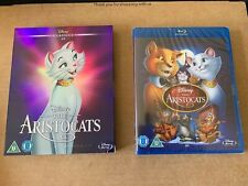 The Aristocats Blu Ray Disney Classic with O- Ring Slipcase NEW & SEALED