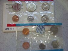 1970 Uncirculated Coin Set - 10 Coins - Us Mint