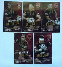 State of Origin 2016 Season NRL & Rugby League Trading Cards