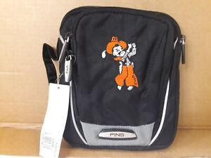 """Ping Zippered Golf Pouch ~ OSU """"Golf Swinging Pete"""" ~ New with Tags"""