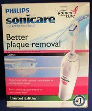 Philips Sonicare Essence Pink Toothbrush Susan G Komen HX5251/33 *New Open Box
