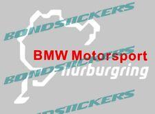 Vinilo de corte Pegatina NURBURGRING BMW MOTORSPORT SILUETA LOGO STICKER DECAL