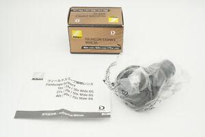 [Brand new] Nikon Fieldscope Eyepiece Wide DS 40x 60x 75x WDS #BOD