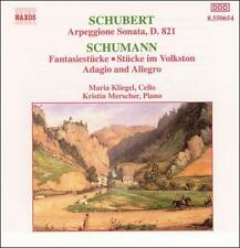 SCHUBERT / KLIEGEL / MERSCHER-Arpeggione Sonata CD NEW