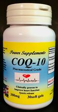 CoQ-10 q10 coq Q-10 300mg ~ 30 soft gels, anti-aging, co-enzyme. Made in USA.