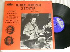 GENE KRUPA Wire Brush Stomp 1938-1941 Anita O'Day Vido Musso Sam Donahue LP