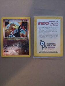 SEALED ENTEI PROMO pokemon card. MINT 1999. Black Star Promo SET #34. WOTC.