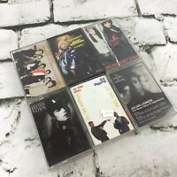 Cassette Tapes Lot Of 6 Pop Rock Music Janet Jackson Tom Petty Huey Lewis VTG
