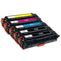 5 Pack Toner Cartridge for HP 312X 312A CF380X CF381A CF382A CF383A MFP M476nw