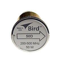 Bird 50D Plug-in Element 0 to 50 watts 200-500 MHz for Bird 43 Wattmeters