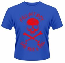 Fall Out Boy - Skull And Crossbones - Men's Blue T-Shirt
