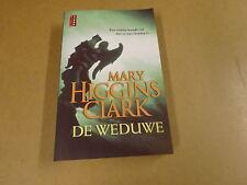 BOEK POEMA THRILLER / MARY HIGGINS CLARK - DE WEDUWE