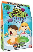 Color Change Gelli Baff Bath Time Fun Kids Changing Orange-Green 300g