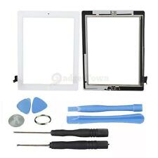 A1376 A1395 Touch Screen Glass Digitizer + Home Button Assembly for iPad 2 White