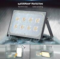10W-300W  LED Flood Light Outside Garden Outdoor Lamp Security Flood Lights 110V