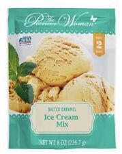 2x Pioneer Woman Salted Caramel Ice Cream Mix Makes 2 Quarts - 8 Oz Each