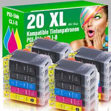 20 für Canon Pixma IP4200 IP5200 IP4500 IP4300 MP520 MP610 IP5300 MP600 mit Chip
