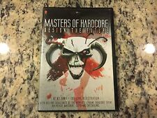 MASTERS OF HARDCORE DESIGN THE FUTURE RARE LIKE NEW DVD CATSCAN ANGERFIST & MORE
