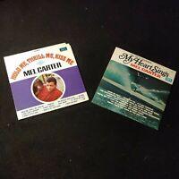 2 Mel Carter Original Vinyl Records LP Album