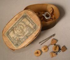 Vintage Nurnberg Glory Nightlights in Wood Box